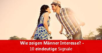Wie zeigen Männer Interesse? - 10 eindeutige Signale